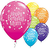 11' Birthday Mum Petit Floral Assortment (25pk)