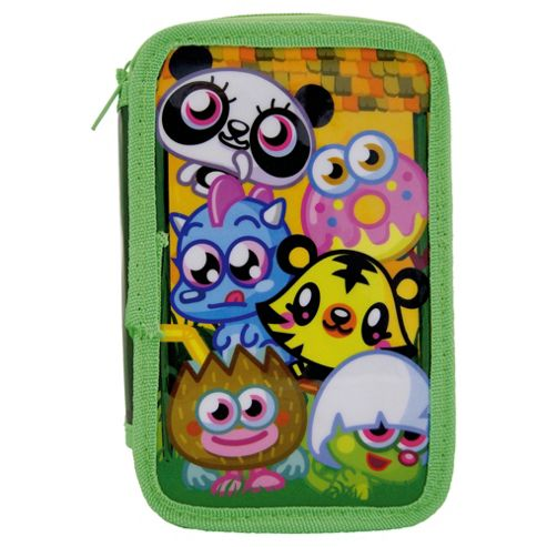 Moshling Zoo Double Tier Pencil Case