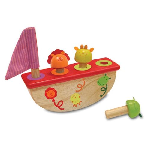 I'M Toy Pop up Rocking, wooden toy Boat