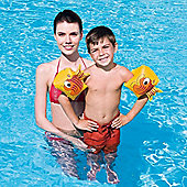 "Splash And Play Arm Bands - Yellow 9"" x 6"""