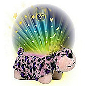 Pillow Pet Dream Lites Pink and Purple Lulu Leopard