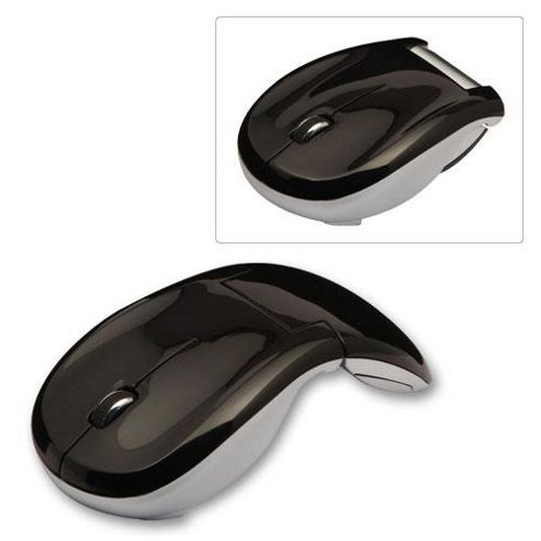 Lindy Wireless Folding Travel Mouse Black