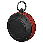 Divoom Voombox Travel Bluetooth Speaker, Red