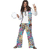 Hippie - Adult Costume Size: 38-40