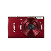 Canon IXUS 180 (20MP) Digital Camera Kit 10x Optical Zoom (Red)