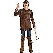 Teen Native American Brave Costume