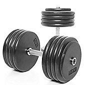 Body Power Pro-style Dumbbells 47.5kg (x2)