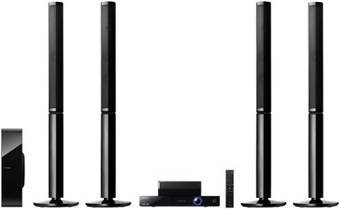 PIONEER BCS727 BLURAY 5.1 HOME CINEMA SYSTEM