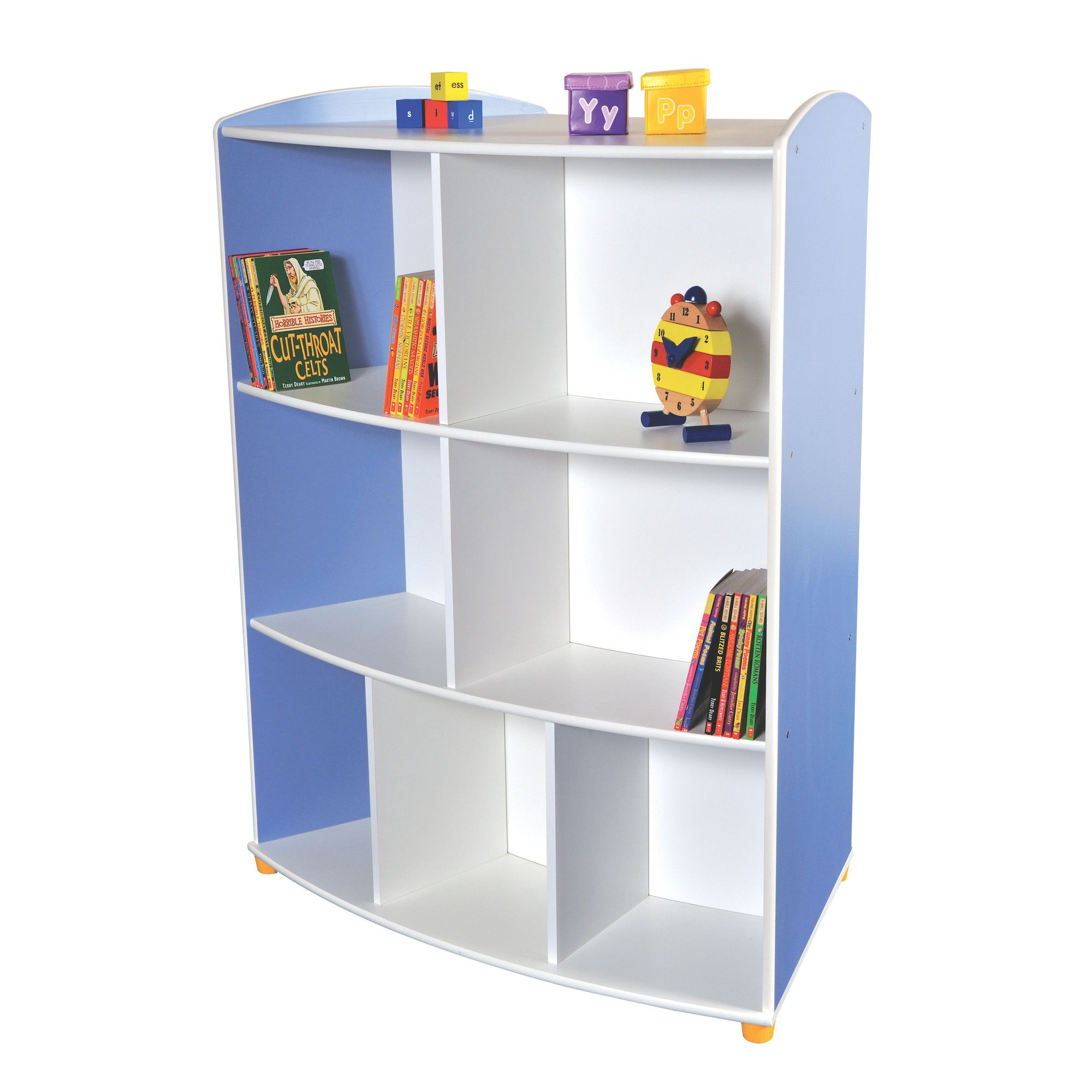 Liberty House Toys Elite Double Sided Curved Unit with 3 Shelves at Tesco Direct
