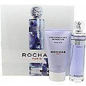 Rochas Les Cascades De Rochas Songe d'Iris Gift Set 100ml EDT + 150ml Body Lotion For Women