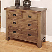Hawkshead Brooklyn Four Drawer Chest in Rich Patina