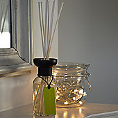 Harbour Housewares Woody Aromatic Scented Reed Diffuser Air Freshener set. 100ml