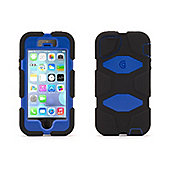 Griffin Survivor Extreme-Duty Case for iPhone 5/5s - Black/Blue