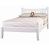 Value by Wayfair Annabelle Bed Frame - White - Small Double (4')