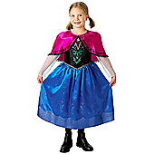 Anna Deluxe Disney Frozen Costume - Medium 5-6 years