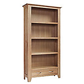 Sherwood Oak Large 2 Drawer Bookcase