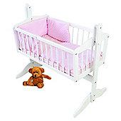 PreciousLittleOne Crib Set (Dimple Pink)