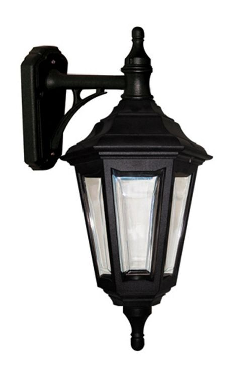 Elstead Lighting Kinsale 1 Light Outdoor Wall Lantern in Black