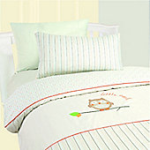 Little Owl Junior Bedding Set - Duvet Cover with Pillowcase