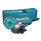 Makita GA9020KD 230mm Angle Grinder With Case & Diamond Wheel 2000 Watt 110 Volt