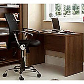 Pure - Office Workstation / Computer Desk / Table - Walnut