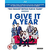 I Give It A Year Blu Ray