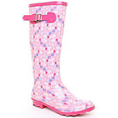 Wellies Girls Heartbreak Wellington Boot Pink
