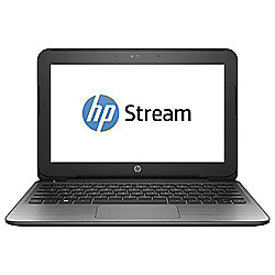 HP Stream 11-r005na, 11.6-inch Laptop, Intel Celeron N3050, 2GB RAM, 32GB, 100GB One Drive - Ash Silver