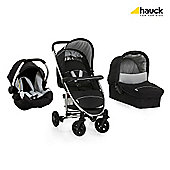 Hauck Miami 4 Trio Travel System Set, Caviar/Silver