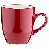 Two Tone Stoneware Mug, Red