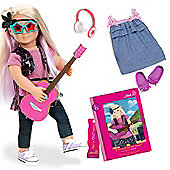 Our Generation Deluxe Doll (With Book) - Layla