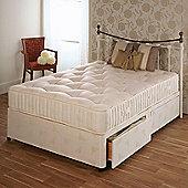 Repose 1000 Platform Divan Bed - King / 2 Drawer