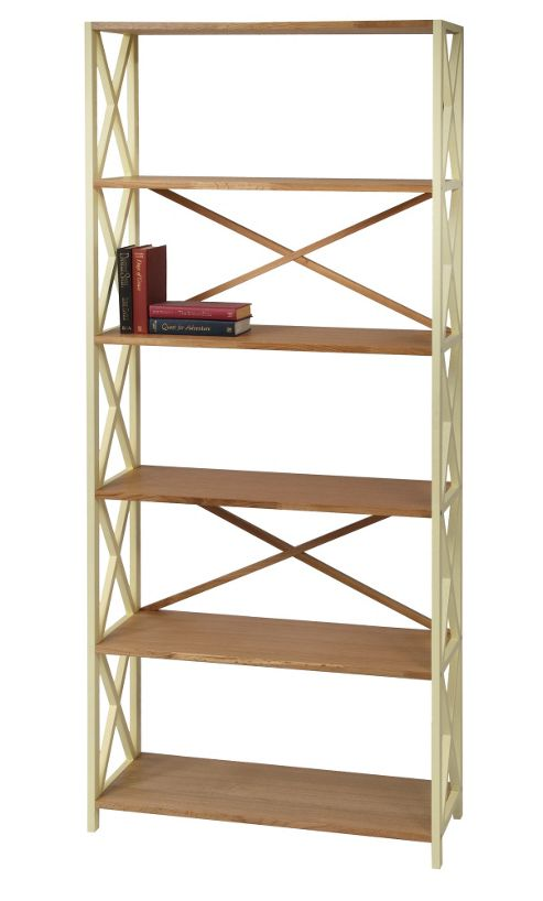 Wilkinson Furniture Cubic Large Bookcase - Buttermilk
