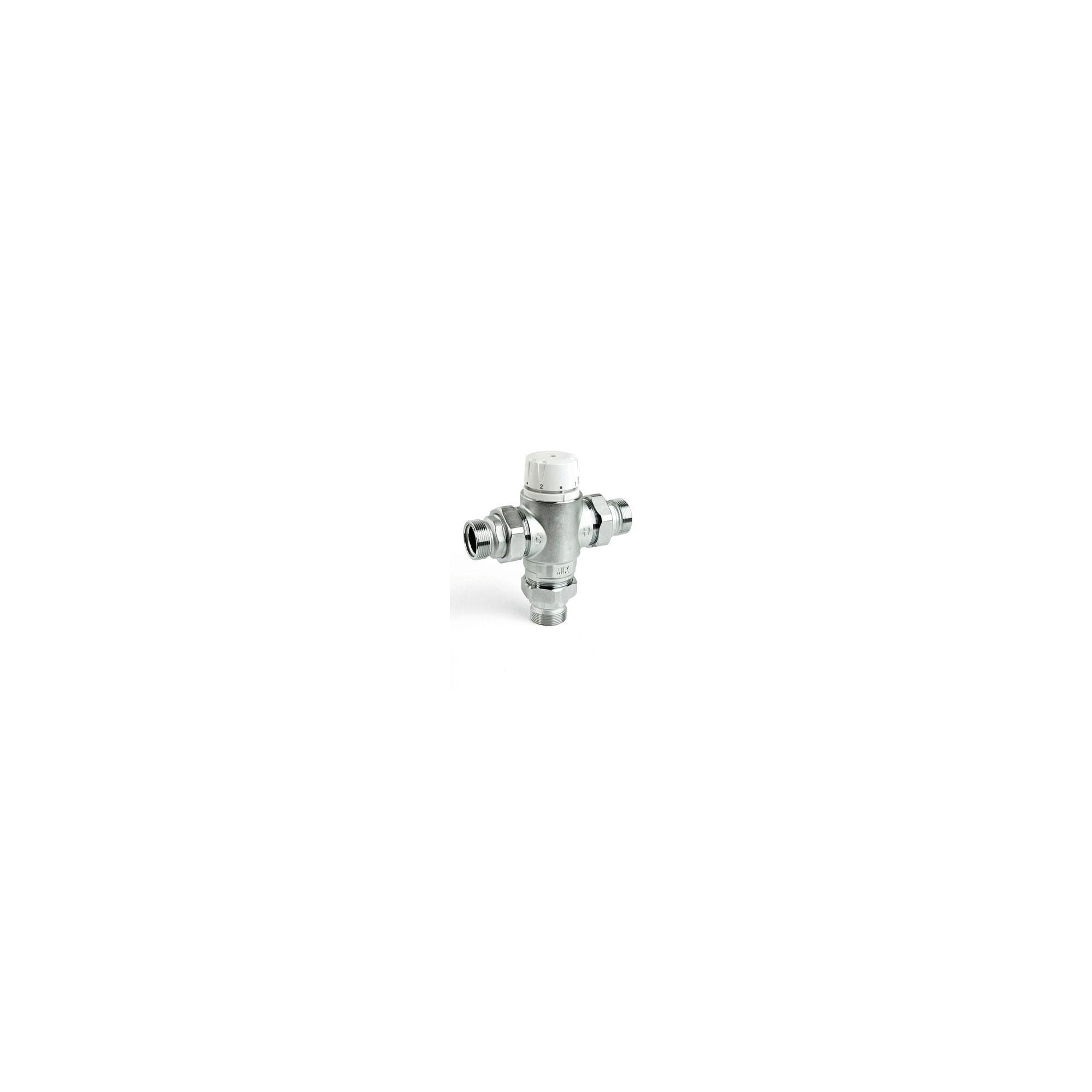 Intamix Pro Thermostatic Mixing Valve 1 1/4 with Screwed Iron and Check Valves at Tesco Direct