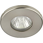 Knightsbridge Bathroom Ceiling Light in Brushed Chrome