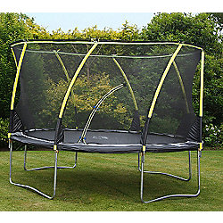 Plum 12ft Whirlwind Trampoline and 3G Enclosure