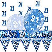 21st Blue Decorating Kit