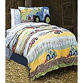 Field Days, Tractor Single Bedding - 100% Cotton