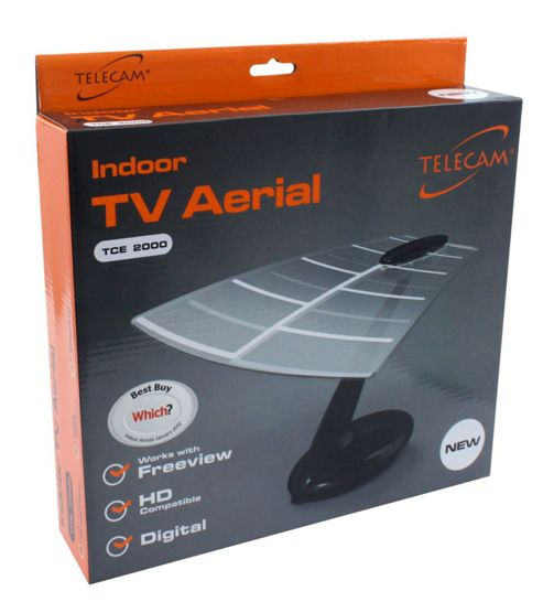 Telecam Tce2000 High Performance Uhf Indoor Tv Aerial