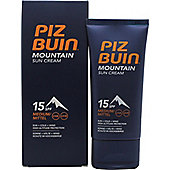Piz Buin Mountian Sun Cream SPF 15 50ml