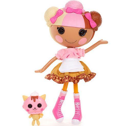 MGA Entertainment Lalaloopsy Scoops Waffle Cone Doll