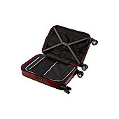 Linea Movelite Hard Shell 4-Wheel Suitcase, Red Small