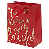 Be Merry and Bright Large Bag