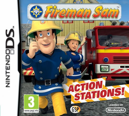 Fireman Sam Action Stations (DS)
