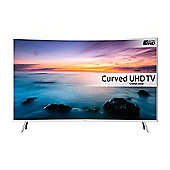 Samsung UE49KU6510 49 inch, Smart, Built in Wi-Fi, Full HD, 2160P, LED TV, with Freeview HD, in White