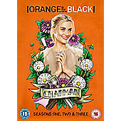 Orange Is The New Black: Season 1-3 DVD