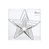 Linea Star Shaped Cookie Cutters