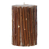 Linea Woodland CandleIn Brown