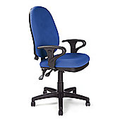Eliza Tinsley High back task operator chair with Black base