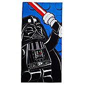 Lego Star Wars Darth Vader Beach Towel